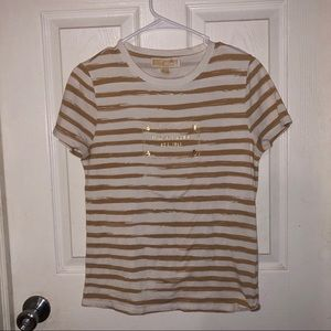 Michael Kors basic T-shirt With gold foiling
